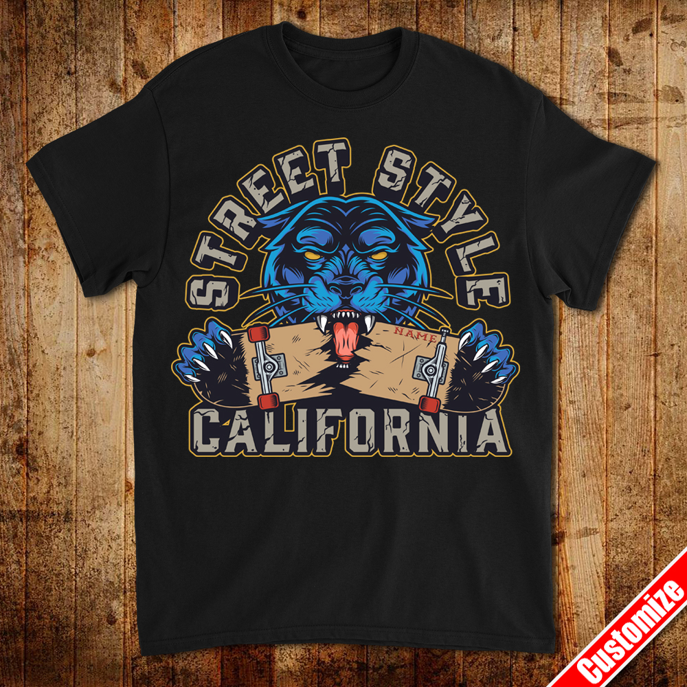 Street Style California – Personalized Customize Your Name